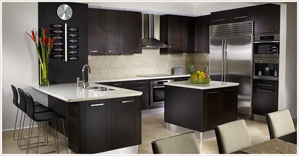 Кухненско обзавеждане (черно)